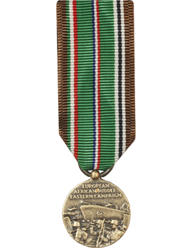 European Middle East Campaign WWII Mini Medal