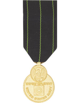 Navy Expert Rifle Mini Medal