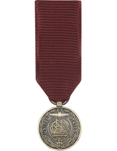 Navy Good Conduct Mini Medal