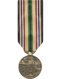 Southwest Asia Mini Medal