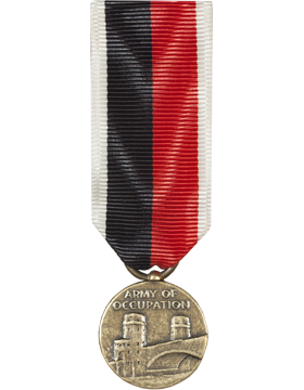 WWII Occupation Mini Medal