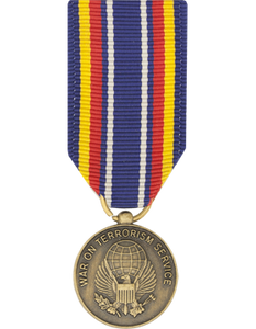 Global War On Terrorism (Service) Mini Medal