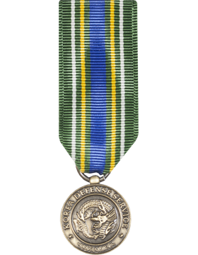 Korean Defense Service Mini Medal