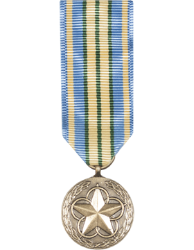 Military Outstanding Volunteer Service Mini Medal