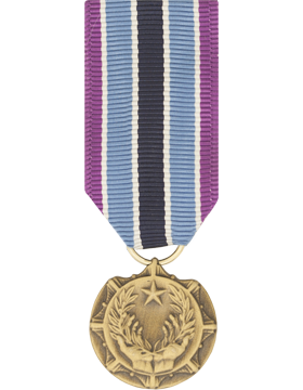 Civilian Award For Humanitarian Service Mini Medal