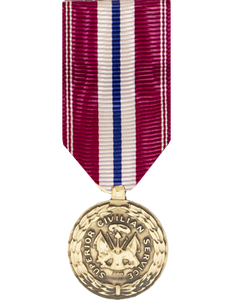 Superior Civilian Service Award (Army) Mini Medal