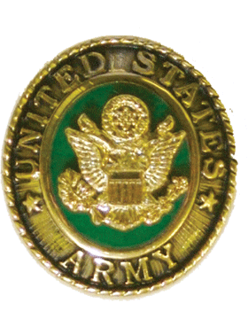 U.S. Army Ring Lapel Pin 2 Piece