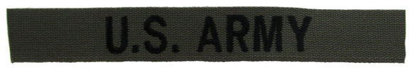O.D. Green U.S. ARMY Branch Tape
