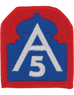 US Army North (5th Army) Patch