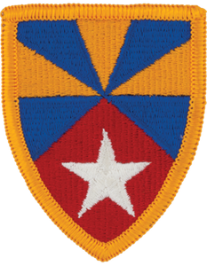 7th Army Support Command Patch