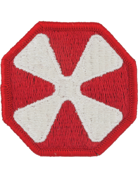 8th Army Patch