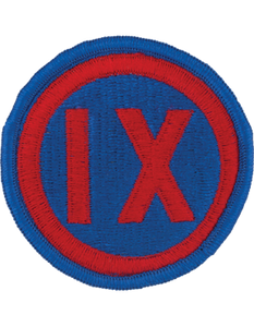 9th Corps Patch