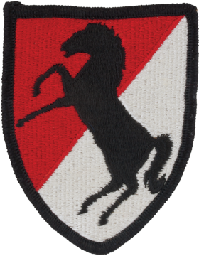 11th ACR (Armored Cavalry Regiment) Patch