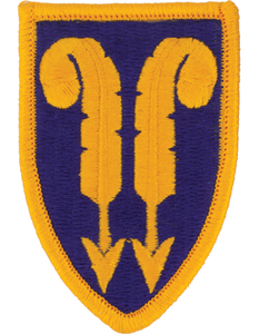 22nd Support Brigade Patch