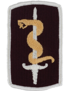 30th Medical Brigade Patch