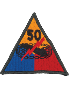 50th Armored Division Patch