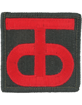 90th Regional Readiness Command Patch