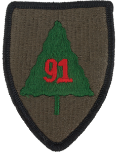 91st Infantry Division Patch