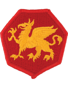 108th Airborne Division Patch
