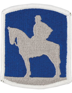 116th Infantry Brigade Patch