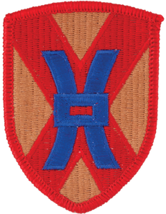 135th Sustainment Command Patch