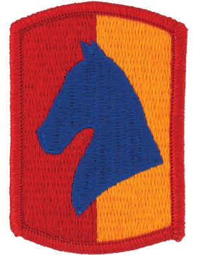 138th Field Artillery Brigade Patch