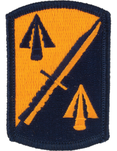158th Infantry Brigade Patch