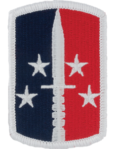 189th Infantry Brigade Patch