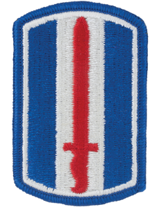 193rd Infantry Brigade Patch