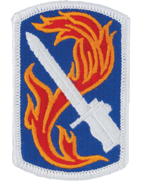 198th Infantry Brigade Patch