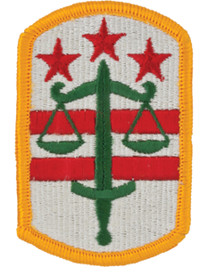 260th Military Police Brigade Patch
