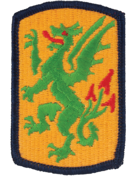 415th Chemical Brigade Patch