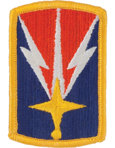 1107th Signal Brigade Patch