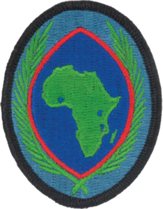 Africa Command Patch
