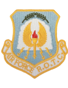 Air Force ROTC Patch - Full Color Shield Patch
