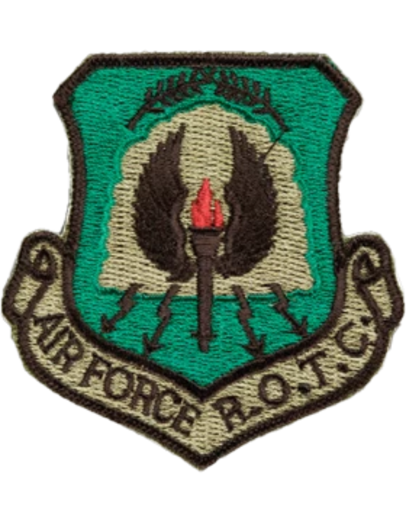 Air Force ROTC Patch - Subdued Shield Patch