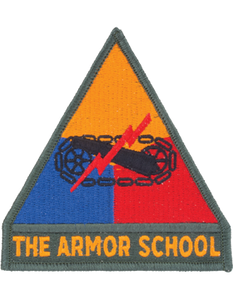 Armor School Patch