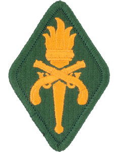 Military Police Training School Patch