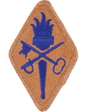 Quartermaster Training School Patch
