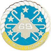 USS Eisenhower Small Pin