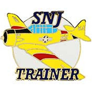 SNJ Navy Trainer Small Airplane Pin