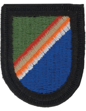 75th Ranger HQ Beret Flash