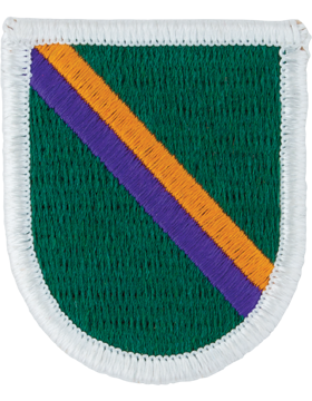 Civil Affairs and Psychological Operations Command Beret Flash