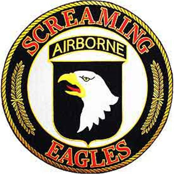 101st Screaming Eagles 10 inch Patch