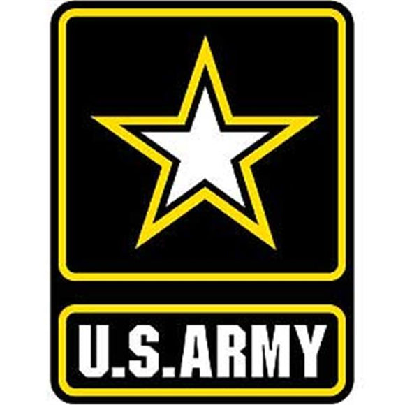 US Army Star 12 inch Patch
