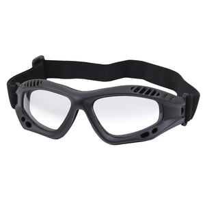Rothco ANSI Rated Tactical Goggles Black and Clear