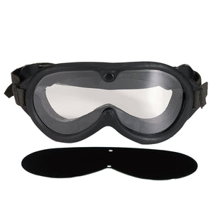 Rothco G.I. Type Sun, Wind & Dust Goggles Black