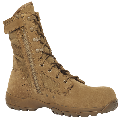 Belleville FLYWEIGHT TR596Z CT Hot Weather Side-Zip Composite Toe Boots - COYOTE