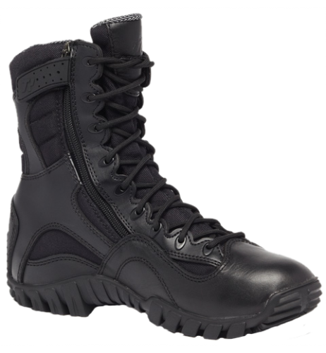 Belleville KHYBER TR960Z WP Lightweight Waterproof Side-Zip Tactical Boots- Black