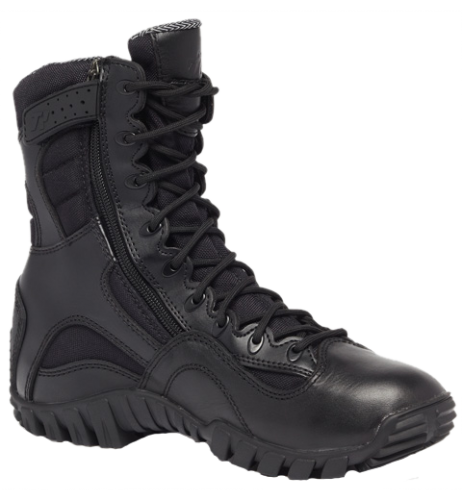 Belleville KHYBER TR960Z Hot Weather Lightweight Side-Zip Tactical Boots - Black